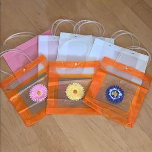 Reusable Gift Bags (plastic)